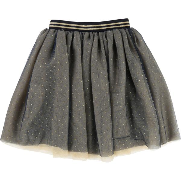 Girls Dark Indigo Skirt