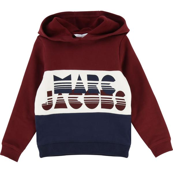 Girls Red Wine Cotton Sweatshirt