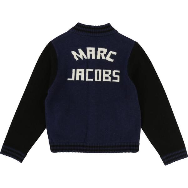 Boys Navy Black Laine Cardigan