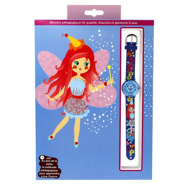 Girls Blue Fairy Watch(6-9Y)