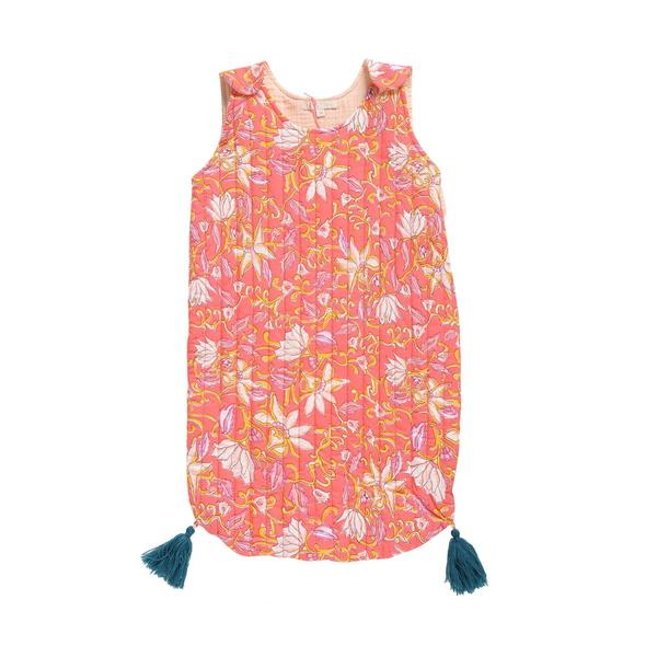 Baby Girls Coral Flower Cotton Sleeping Bag