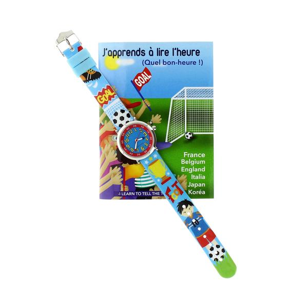 Boys Blue Football Watch(4-7Y)