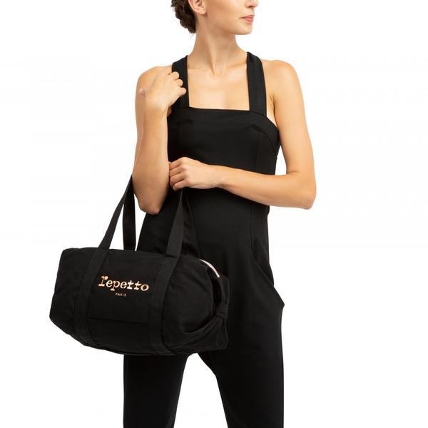 Girls Black Cotton Bags