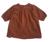 Baby Girls Camel Cotton Dress
