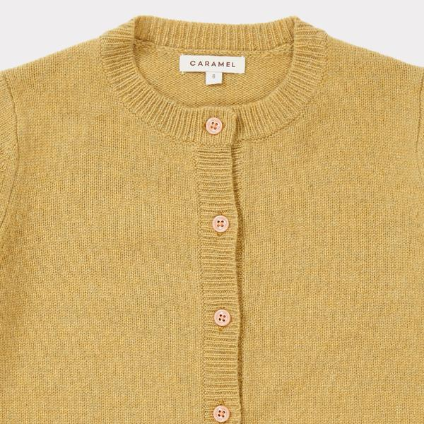 Girls Sand Merino Cardigan