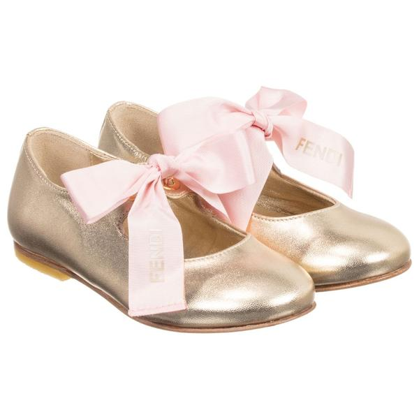 Baby Girls Champagne Shoes
