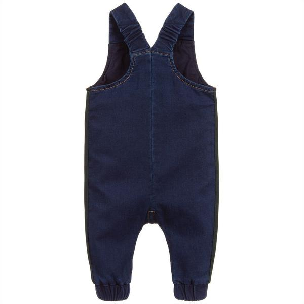 Baby Blue Cotton Overalls