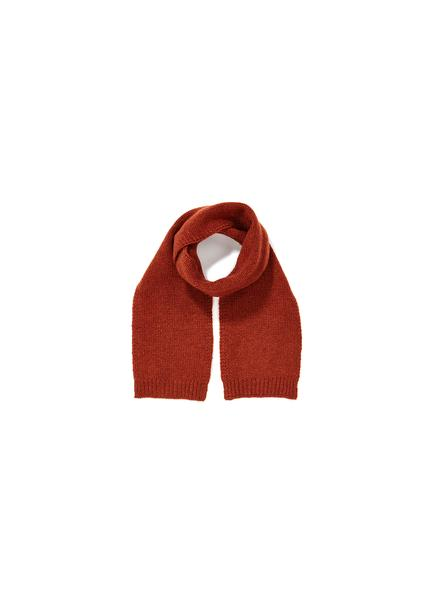 Baby Girls Rust Red Cashmere Scarf