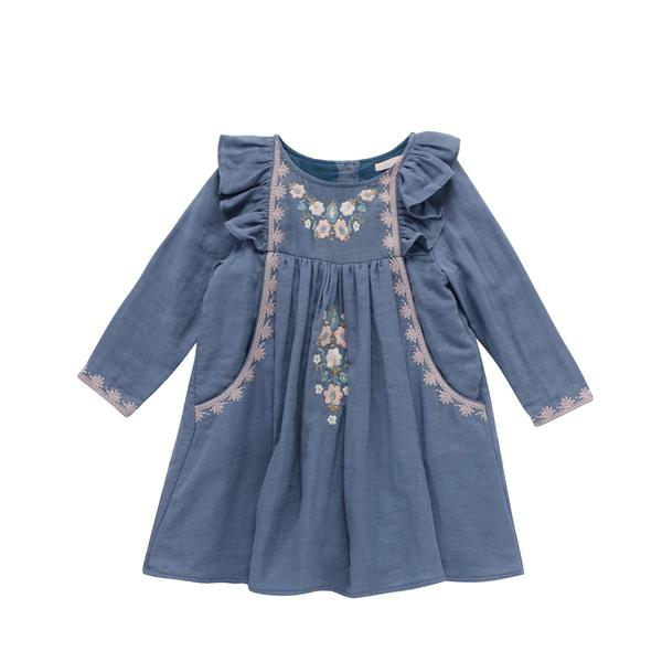 Girls Storm Cotton Dress