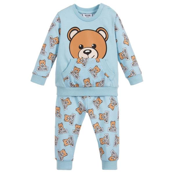 Baby Boys Light Blue Printed Sets