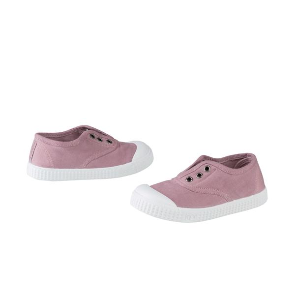 Girls Citron Purple Cotton Shoes