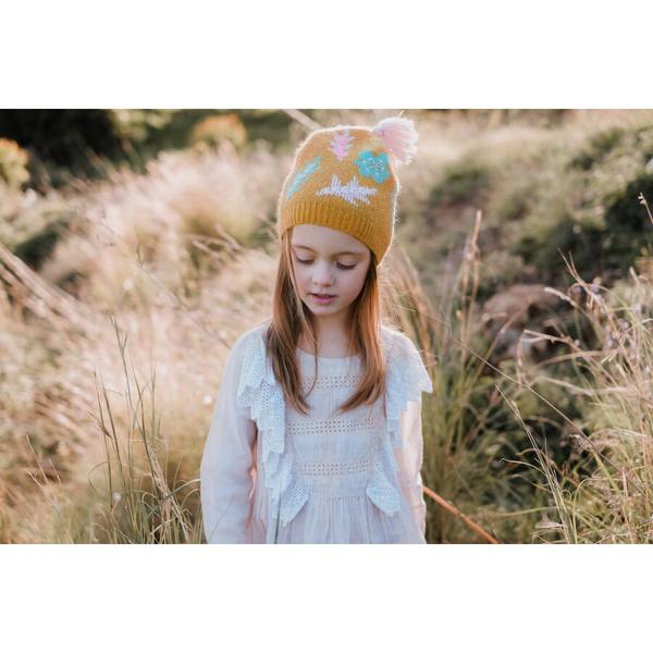 Baby Girls Beewax Hat